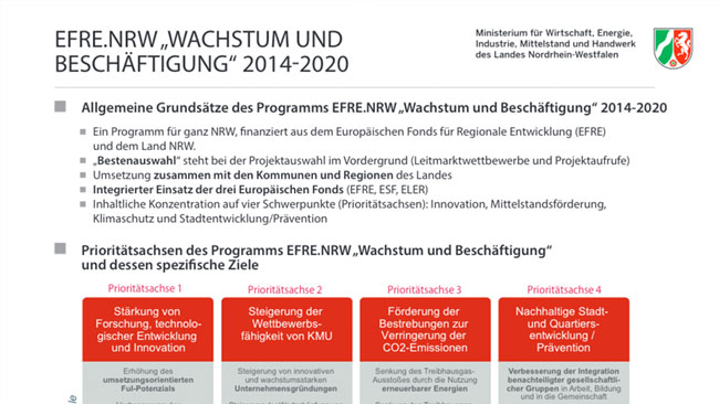 EFRE-NRW - EFRE.NRW